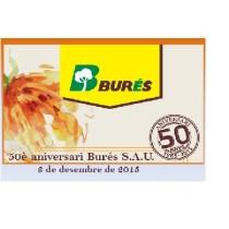 Éxito de convocatoria en la Celebración del 50 aniversario de Burés S.A.U.  (1965-2015)