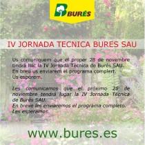 (ES) 4ª JORNADA TÉCNICA DE BURÉS SAU