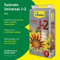 Sustrato Universal J-2, con certificación ecológica