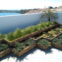 (ES) NUEVO: Sistema Ajardinamiento Modular Burés para cubiertas verdes y superficies duras.