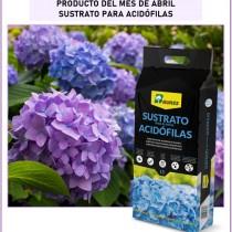 Sustrato para Plantas Acidófilas, especial para hortensias, gardenias y azaleas.